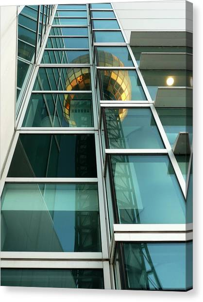 Sunsphere Reflections Canvas Print