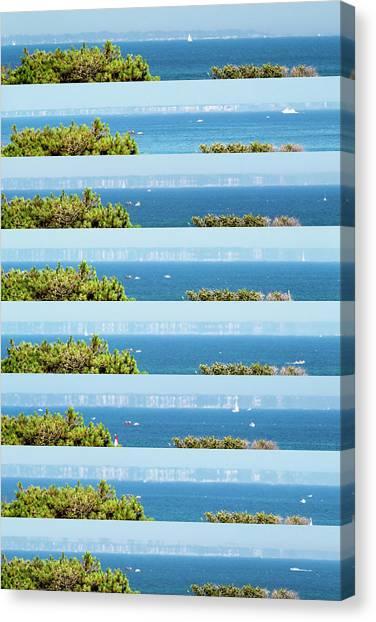 Mirages Canvas Print - Superior Mirage by Laurent Laveder