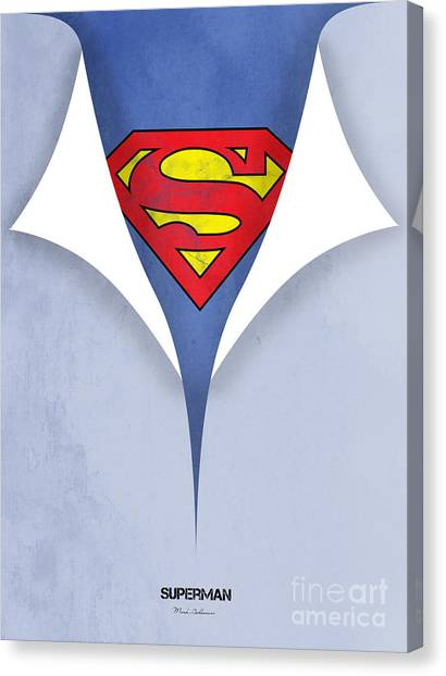 Canvas Print - Superman 9 by Mark Ashkenazi