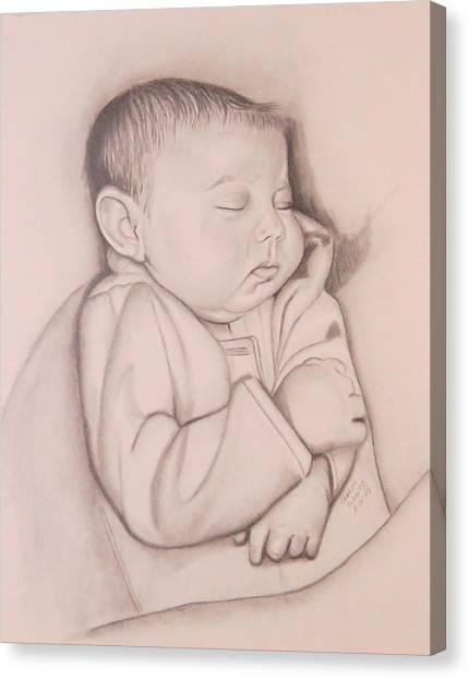 Sweet Sleep Canvas Print