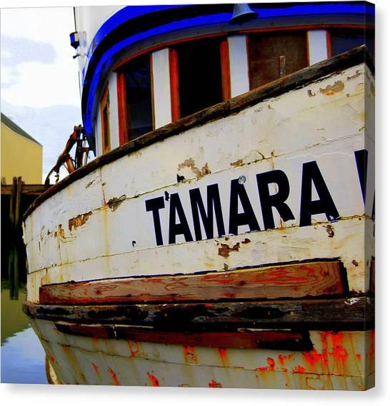 Tamara Canvas Print by Mamie Gunning