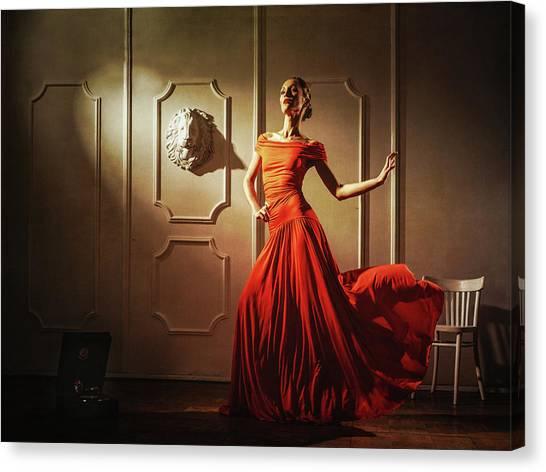Tango Canvas Print by Sergei Smirnov