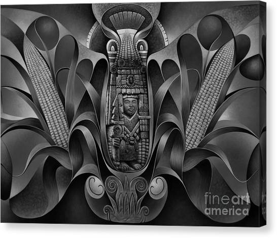 Tapestry Of Gods - Chicomecoatl Canvas Print