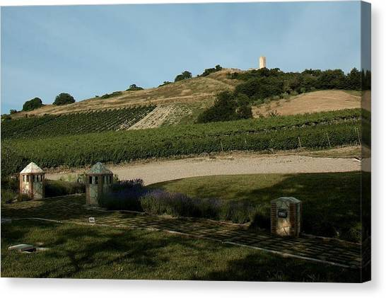 Tarquinia Countryside Canvas Print