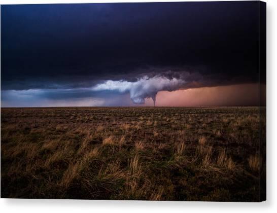 Texas Tornado Canvas Print