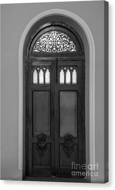 The Closed Door Canvas Print