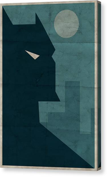 Bat Canvas Print - The Dark Knight by Michael Myers