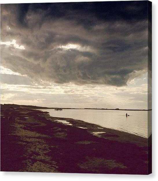 Massachusetts Canvas Print - The Eye In The Sky by Natasha Marco