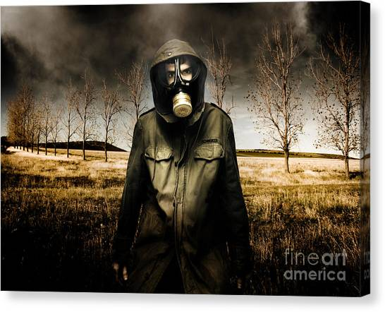 Biohazard Canvas Print - The Fall Of War by Jorgo Photography - Wall Art Gallery