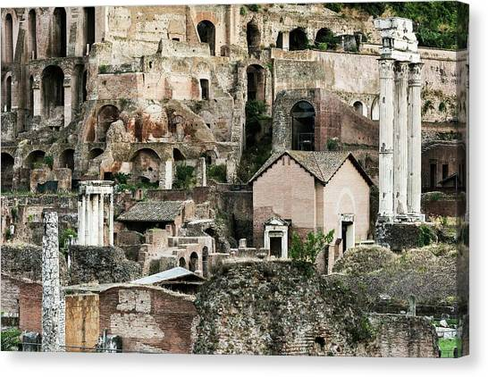 The Forum Canvas Print - The Forum by John Greim/science Photo Library