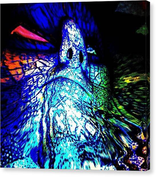 Judaism Canvas Print - The Golem Emerging From The Clay by Urbane Alien