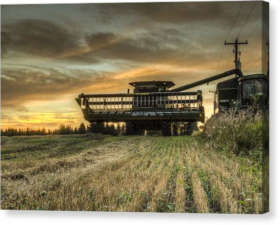 The Harvest Time Canvas Print