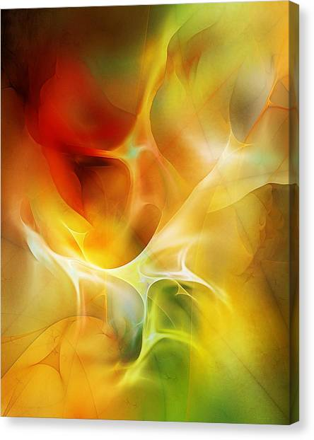 The Heart Of The Matter Canvas Print