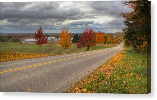 The Magic Of The Fall Canvas Print