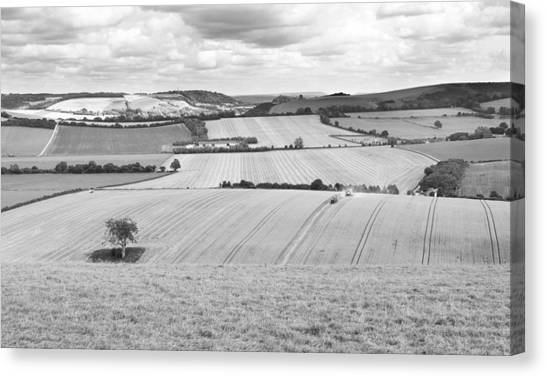 The Meon Valley Canvas Print