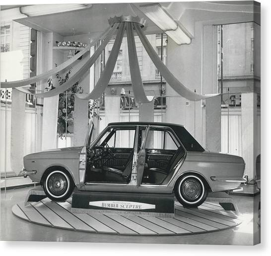 The New Humber Scepter Canvas Print by Retro Images Archive