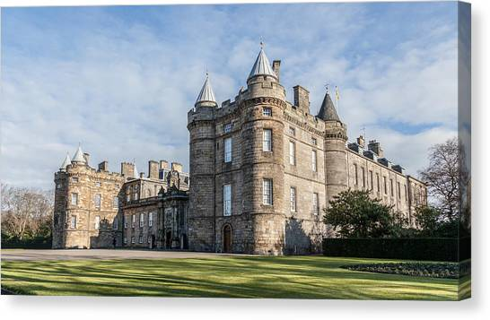 The Palace Of Holyroodhouse Canvas Print