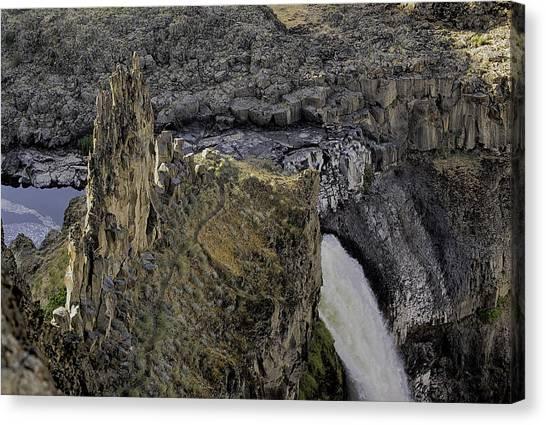 The Palouse Falls Canvas Print