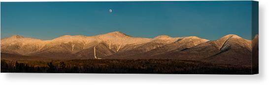 The Presidential Range White Mountains New Hampshire Canvas Print