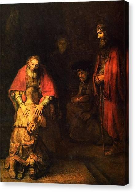 The Prodigal Son Canvas Print