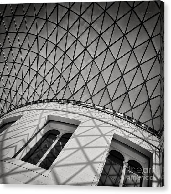 The British Museum Canvas Print - The Reading Room by Rod McLean