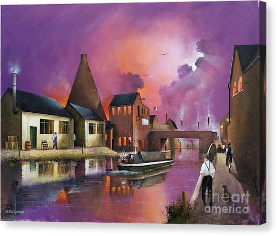 The Red House Cone - Wordsley Canvas Print