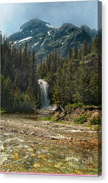 Serenity Fall Canvas Print by The Stone Age
