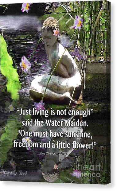 The Water Maiden Canvas Print