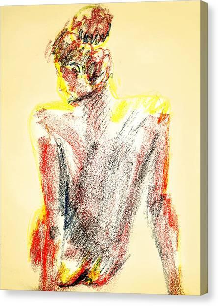 Thinking Back Canvas Print