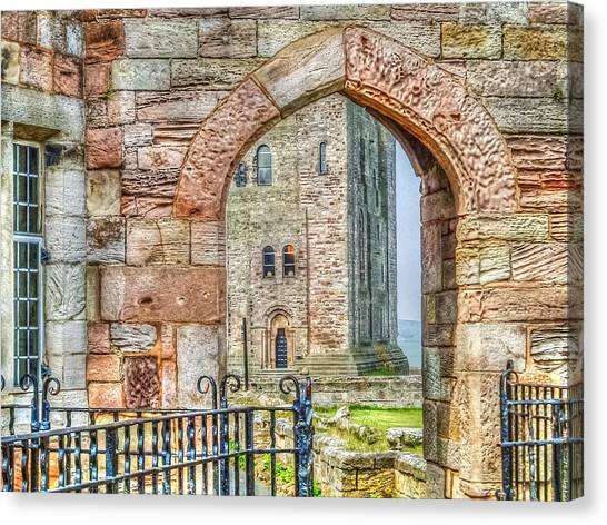 Through The Arch Canvas Print