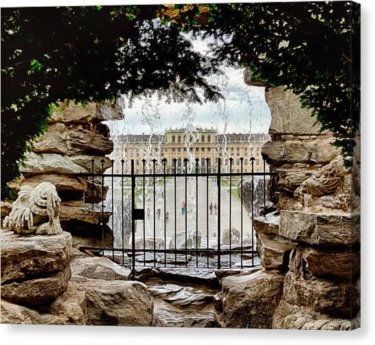 Through The Gate Canvas Print by Viacheslav Savitskiy
