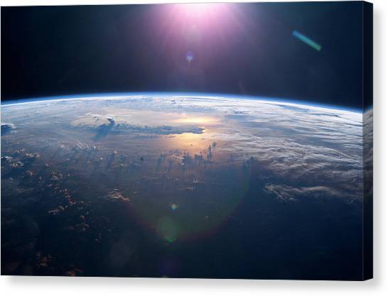 Thunderclouds Canvas Print - Thundercloud by Nasa/science Photo Library
