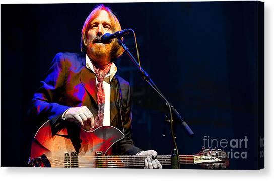 Tom Petty Canvas Print - Tom Petty by Marvin Blaine