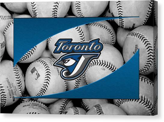 Toronto Blue Jays Canvas Print - Toronto Blue Jays by Joe Hamilton