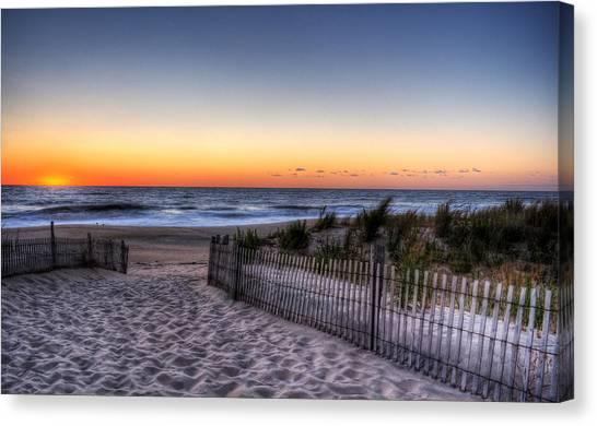 Tower Beach Sunrise Canvas Print