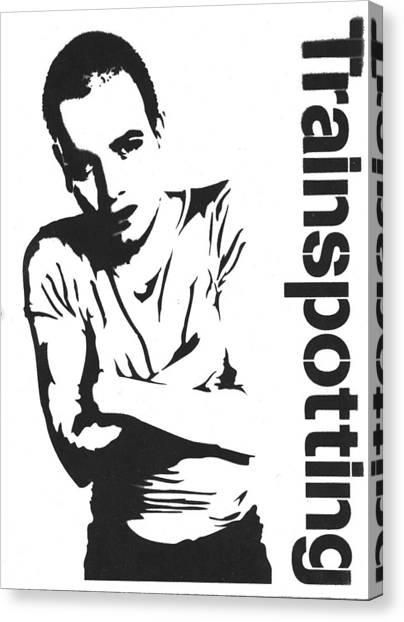 Trainspotting Canvas Print - Trainspotting by Guido Prussia