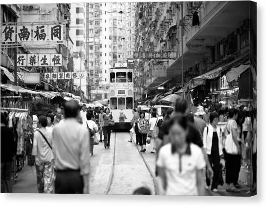 Hongkong Canvas Print - Tram  by Kam Chuen Dung