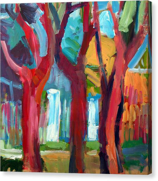 Tree Canvas Print by Magdalena Mirowicz