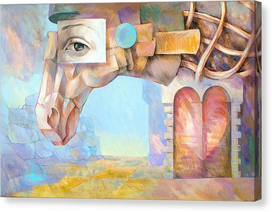 Trojan Horse Canvas Print by Filip Mihail