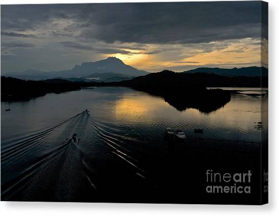 Tuaran River  Canvas Print