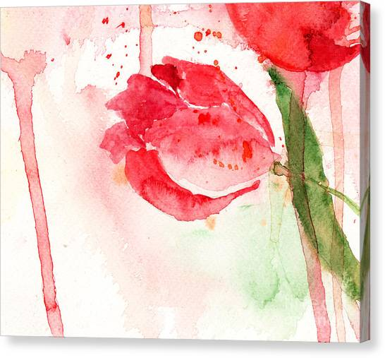 Tulip Flower Canvas Print