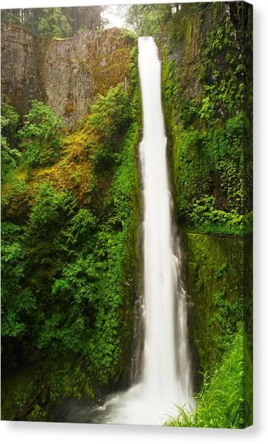 Tunnel Falls  Canvas Print