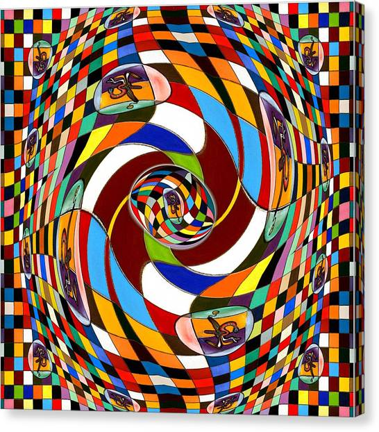 #1 Twisted Combination Canvas Print