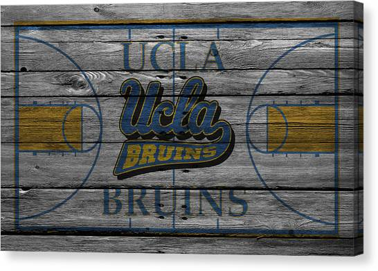 Ball State University Canvas Print - Ucla Bruins by Joe Hamilton