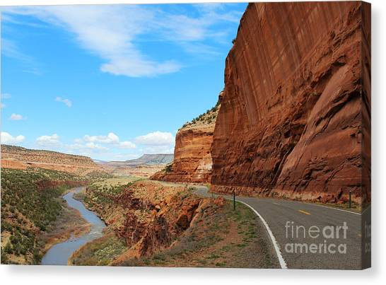 Canvas Print featuring the photograph Unaweep Tabeguache Scenic Byway by Kate Avery