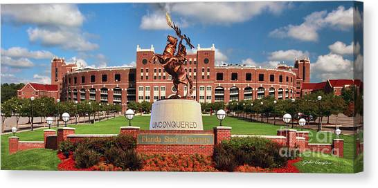 Unconquered Canvas Print