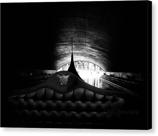 Under The Bridge Canvas Print by BandC  Photography