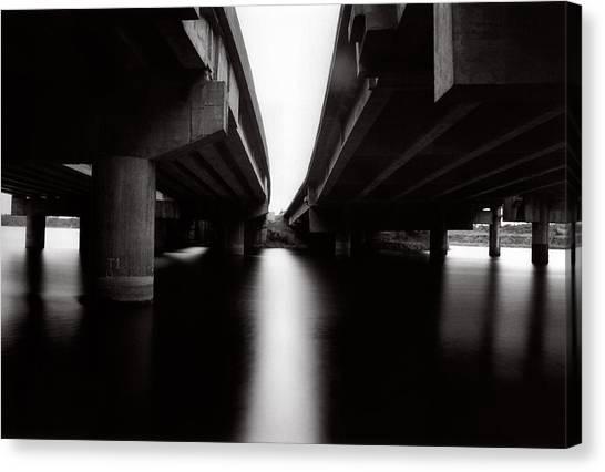 Under The Bridges Canvas Print