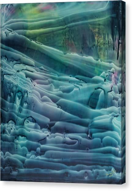 Underwater Seascape II Canvas Print