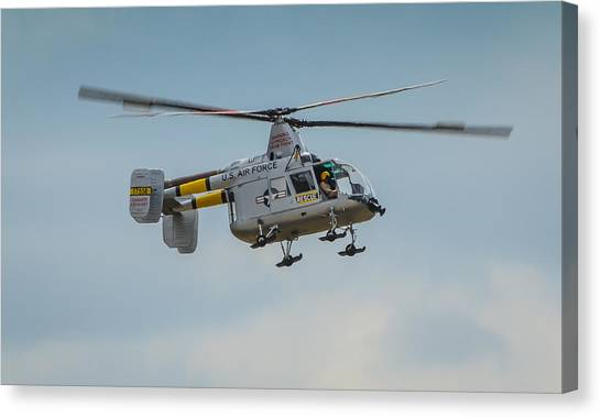 Huskie Canvas Print - United States Air Force Hh-43 Huskie by Puget  Exposure